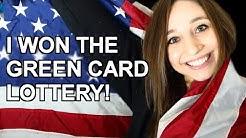 I WON THE GREEN CARD LOTTERY!   German Girl in America