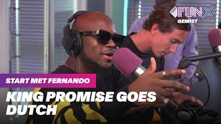 Download lagu KING PROMISE GAAT HARD OP FRENNA, CHIVV & BROEDERLIEFDE