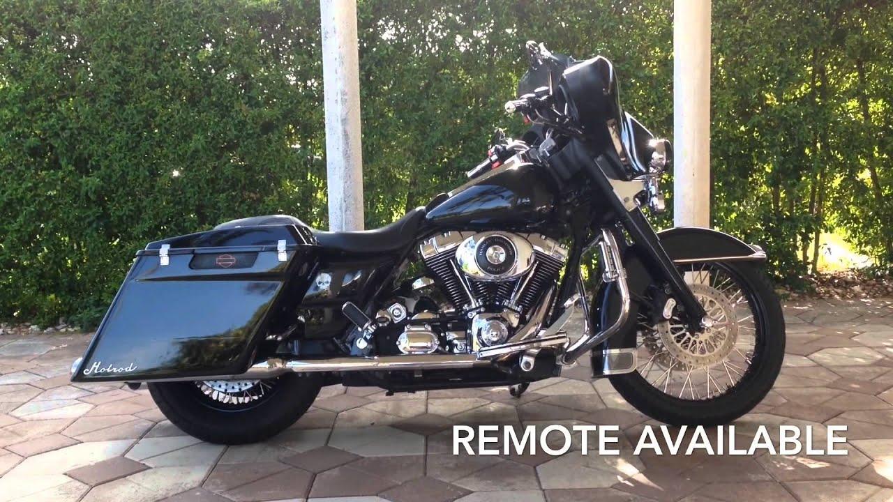 Backyard Air Suspension Harley Electra Glide - YouTube