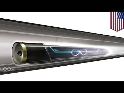 Hyperloop One conducts first open-air propulsion test in North Las Vegas, Nevada - TomoNews