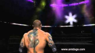 Dave Batista 2nd Theme Entrance (SmackDown Vs RAW 2011) (X Box 360)