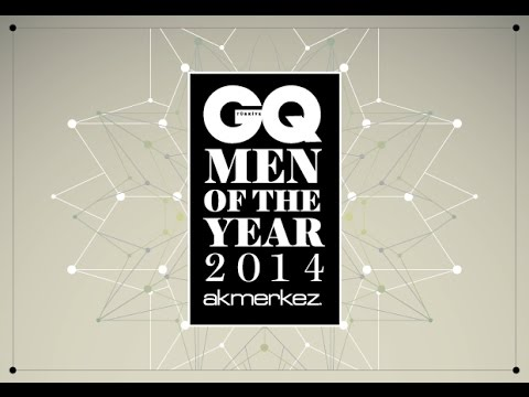 GQ Türkiye - Men of the Year 2014 Ödül Töreni