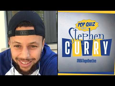 Stephen Curry hosts #NBATogether Trivia!