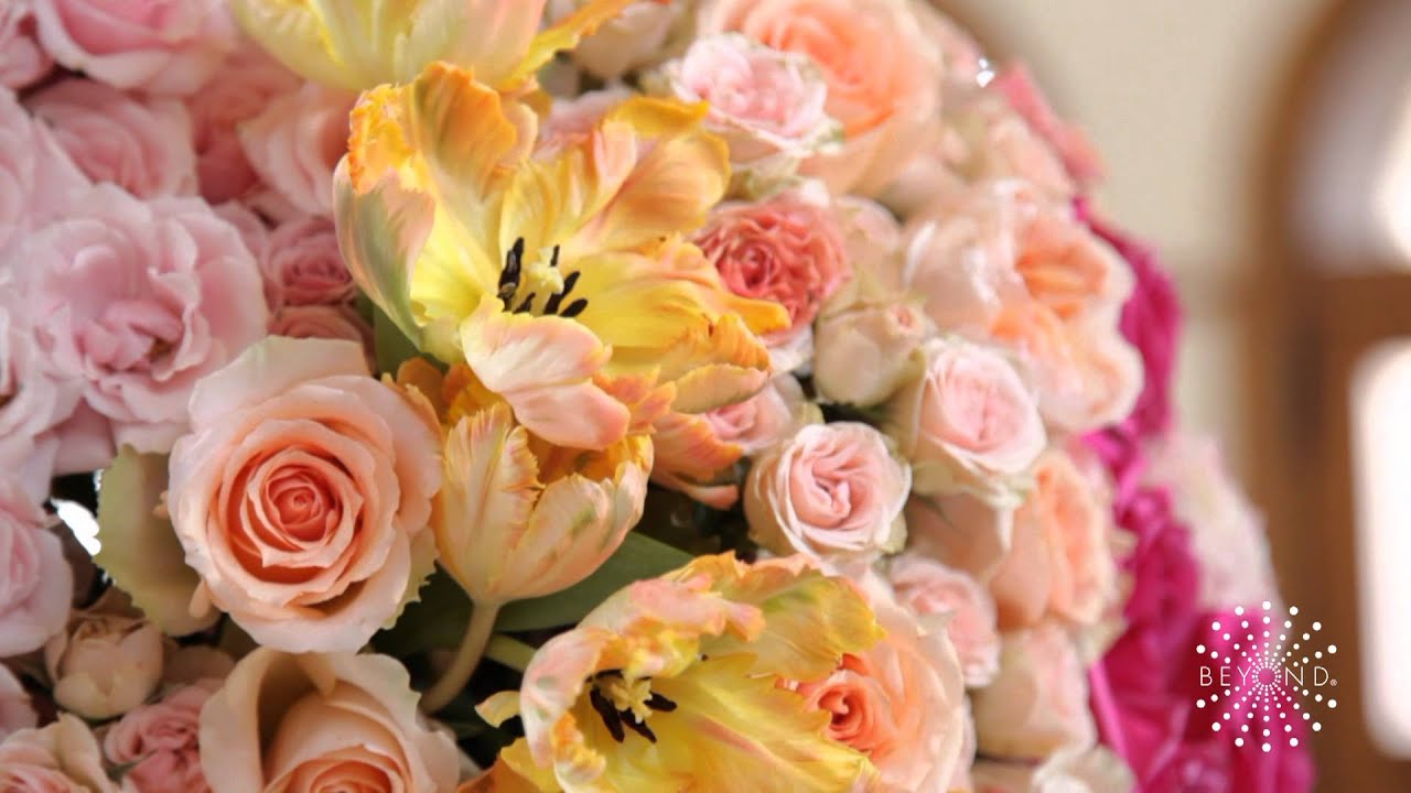 Peach Red And Pink Wedding Details From Tami Winn Events Youtube