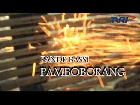 """PENGRAJIN PARANG PAMBOBORANG MAJENE"" | Prod. TVRI SULBAR | INDONESIA MEMBANGUN | JANUARI 2018"