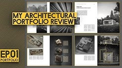 Architectural Portfolio LAYOUT Review | Different TYPES of architectural portfolios