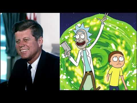 JFK Reads The Rick And Morty Copypasta (Speech Synthesis)