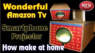How make smartphone projector  || by $Upgradeworktips || Tv Projector Enjoy