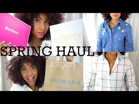 SPRING HAUL 2017 & TRY ON {BOOHOO, ASOS, PRIMARK, MISSGUIDED, NEXT} Part 1