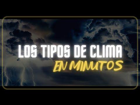 TIPOS DE CLIMA En 5 Minutos