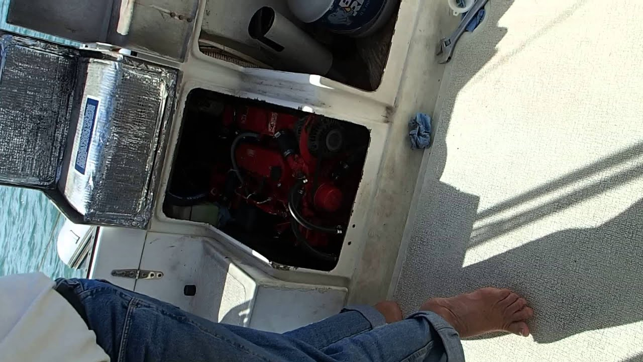 Starting a Diesel After Rebuild | The Boat Galley