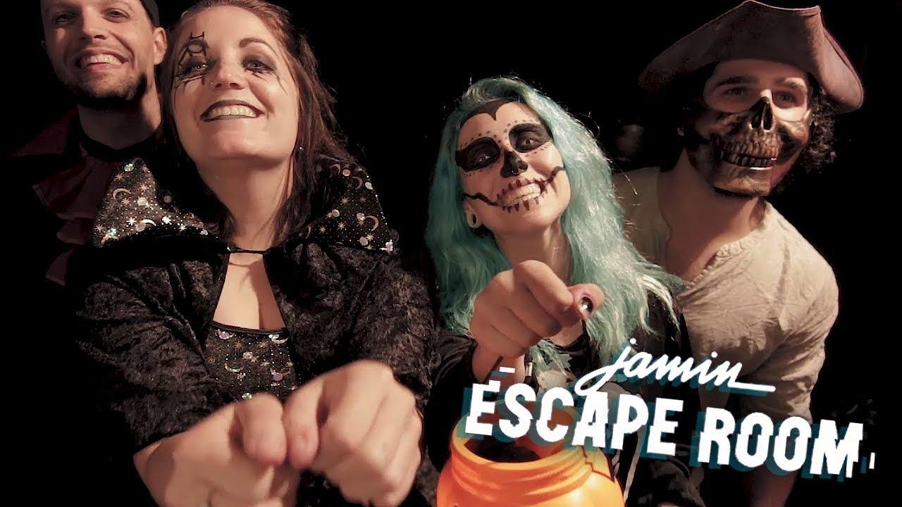 Halloween Jamin.Halloween 2017 Jamin Escape Room Trick Or Tr Eat