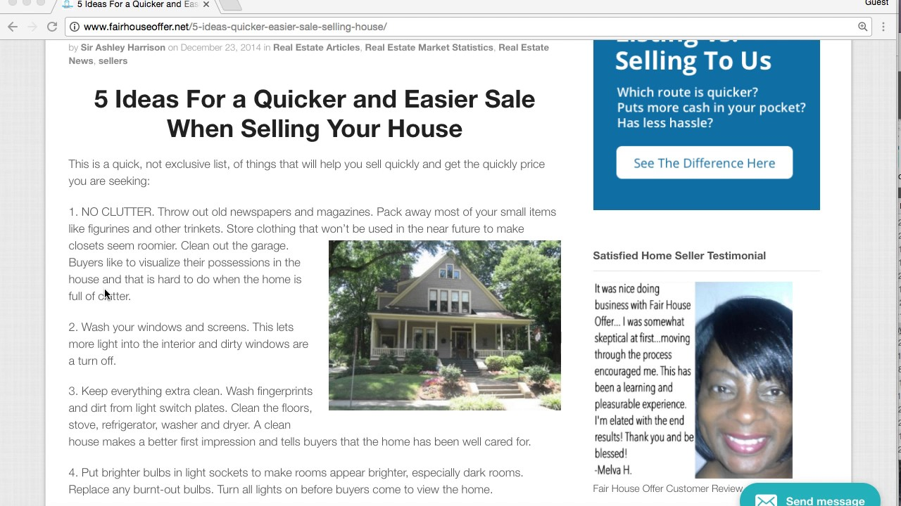 5 Tips to Sell House to a We Buy Houses company or with an Agent