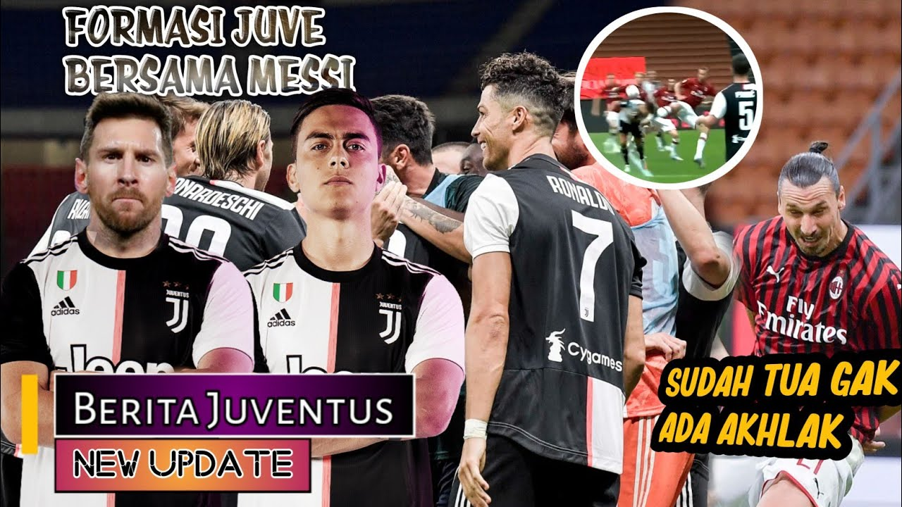 Di ejek Ibra, Ronaldo tetap santai🦵Formasi CR7 Dybala Messi🤔Juve tetap semangat💪BERITA JUVENTUS 🔴