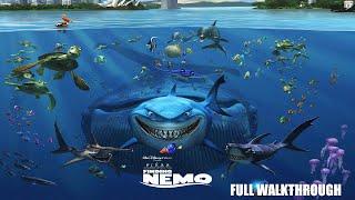 Finding Nemo Video Game - Full Walkthrough