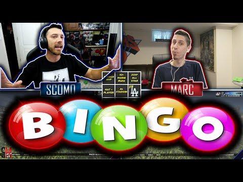 MLB Bingo (Pack Game) With GiraffeNeckMarc - MLB The Show 18