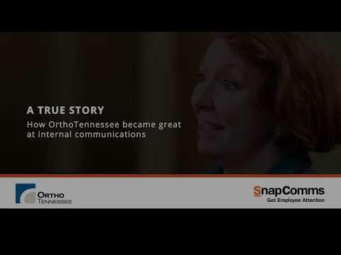 SnapComms Internal Communications Case Study