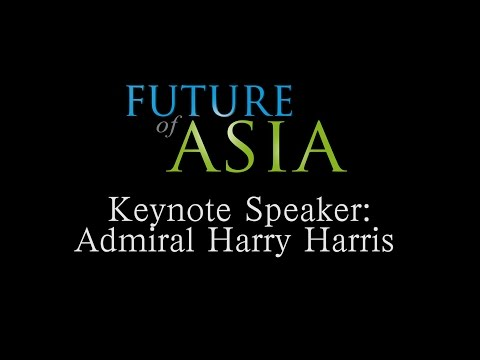 Keynote:  Admiral Harry Harris