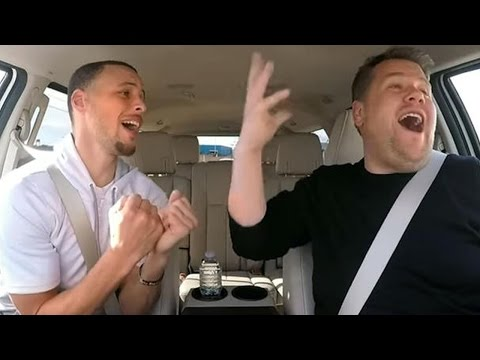 Steph Curry Sings Disney Medley for Carpool Karaoke with James Corden
