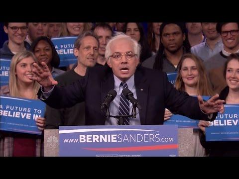 Watch Jimmy Fallon's Perfect Impression of Bernie Sanders