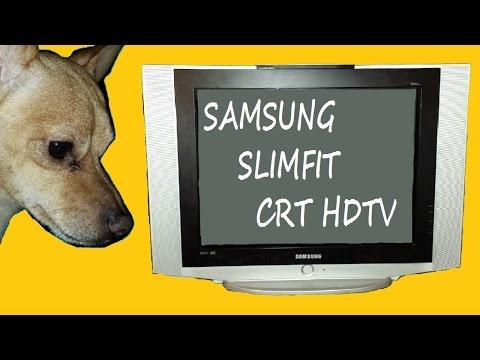 Samsung Slimfit CRT HDTV
