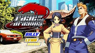 Rage of the Dragons Billy Lewis - Lynn Baker playthrough Neo Geo MVS レイジ・オブ・ザ・ドラゴンズビリーリン・ベーカー