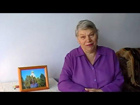 Мама читает стихи. Щепоткина Антонина Борисовна читает стихи. Съемка - весна 2006г.