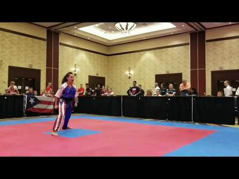 Haley Glass: CMX Forms: Medal Rounds: Team Puerto Rico: 2017 WKC World Championship