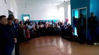 Омские казахи . Концерт Нововаршавском районе . 3 часть.