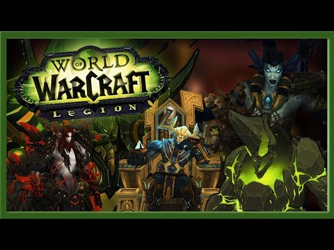 The 10 BEST RAID BOSSESS in World of Warcraft: Legion!
