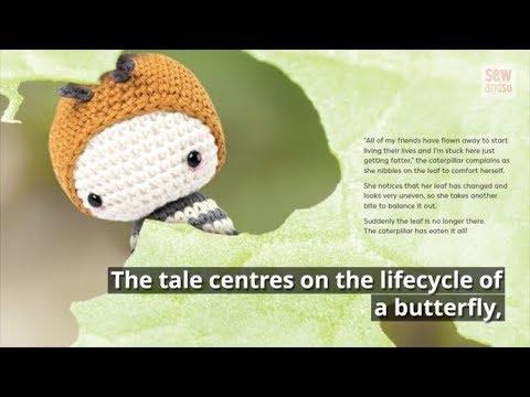 Lalylala GOLDEN DAYDREAM MOTH butterfly Crochet pattern by lalylala   360x480