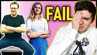 Feminist MANSPREADING Fail