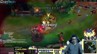 REDEMPTION KILL - LoL Best Moments 25 League Of Legends Stream Highlights Funny Moments