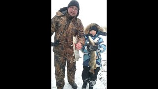 Зимняя рыбалка в дельте Волги База Олигри Фиш март 2018г