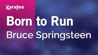Karaoke Born to Run - Bruce Springsteen *