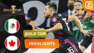 BESLISSING IN DE ALLERLAATSTE SECONDEN! 😱 | Mexico vs Canada | CONCACAF Gold Cup 2021