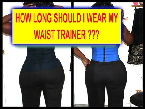 fc07db79c7f How to put on a waist trainer