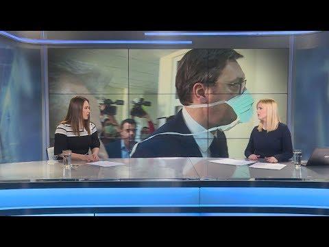 N1 reporteri o poseti Vučića Institutu za majku i dete i kakav vazduh udišemo