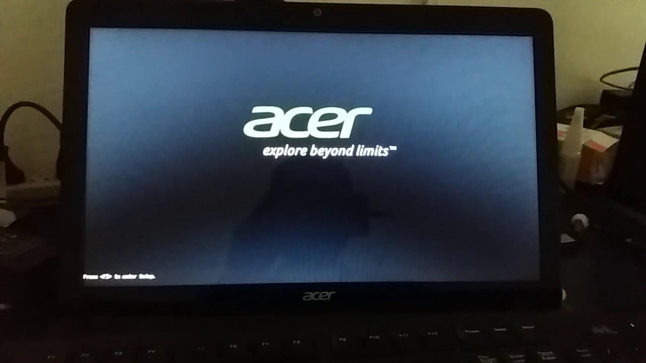 no bootable device hit any key - CORRIGIDO