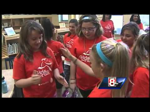 Girls on the Run Program helping students at Ocean Avenue Elementary School