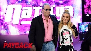 "WWE Hall of Famer Bret ""The Hitman"" Hart makes his entrance: WWE Payback 2016 on WWE Network thumbnail"