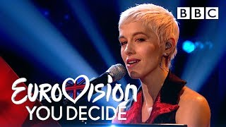 Special guest SuRie performs 'Storm' | Eurovision 2018 UK Entry