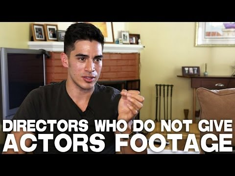Directors Who Do Not Give Actors Footage by Michael Galante