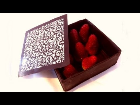 how to make chocloate box