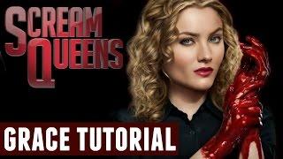 scream queens grace halloween makeup tutorial