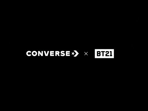37a0a9d1c3ac Converse x BT21 Collection - YouTube