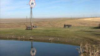 Prairie Windmills Of Old.wmv