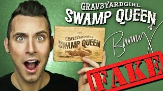 FAKE ASS Grav3yardgirl SWAMP QUEEN Palette! | Tarte