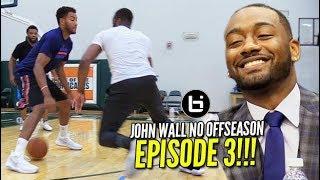 How Does John Wall Travel?! + NBA Nike Jersey Reveal & More! | NO OFFSEASON | episode 3