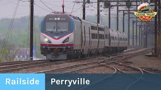 Railside: Perryville (Inc. The Ringling Bros Circus Train)